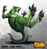 Kaiju combat duncan by kaijusamurai-d5naf1i