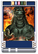 Trading Battle 4th Generation Godzilla