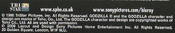 Blu ray godzilla 1998 copyright disclaimer