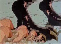 Termites on Zilla's feet (2)