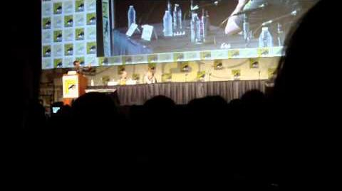 Godzilla Panel at Comic-Con 2012