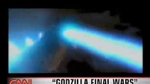 Godzilla - CNN News Report 1