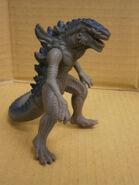 US Godzilla 4 inch Vinyl Figure TOKUSATSU Bandai 1998
