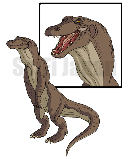 Komodithrax The American Godzilla