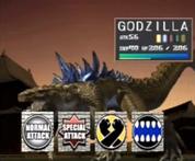 Godzilla Trading Battle 1
