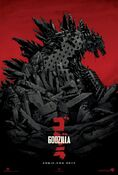 These prints will also be handed out to fans who visit the Godzilla Encounter in San Diego.