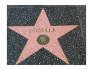 1990802-Hollywood Walk of Fame Godzilla Los Angeles