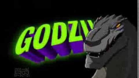 GODZILLA® THE SERIES (1998-2000) - Cartoon Network Bumper 1