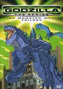 Godzilla the Series The Monster Wars Trilogy (DVD New)