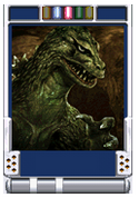Trading Battle 2nd Generation Godzilla