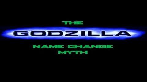 The American Godzilla Name Change Myth