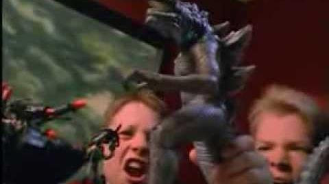 GODZILLA® (1998) - Living Godzilla Commercial