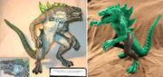 TRENDMASTERS Living Godzilla Test Shot Prototypes x 2