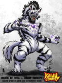 Kaiju combat the hound of nita by kaijusamurai-d62p7vy