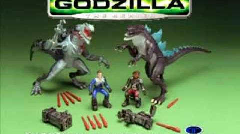 GODZILLA® THE SERIES (1998-2000) - Unreleased Trendmasters Toys Commercial