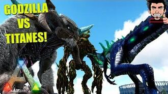 EXTINCTION BATALLAS ! KAIJU GODZILLA VS TITANES QUIEN GANARA? ARK SURVIVAL EVOLVED ESPAÑOL