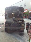 Godzilla 2014 Smashed Car 3