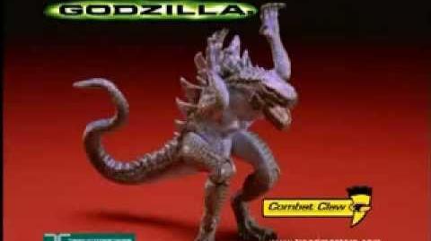 GODZILLA® (1998) - Combat Claw Godzilla Commercial