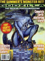 Godzilla The Official Poster Magazine