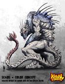 Kaiju combat scaos by kaijusamurai-d5umium