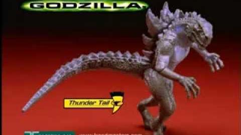 GODZILLA® (1998) - Thunder Tail Godzilla Commercial