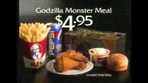 KFC Godzilla Monster Meal
