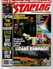 STARLOG MAGAZINE -251 (June 1998)(X-FILES GODZILLA COVER)(Science Fiction Universe) Paperback – January 1, 1998