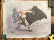 (3) Original Gozilla Drawing By Ricardo Delgado From Tri Star Pictures 1-1 RARE3