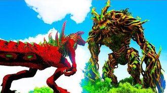 Godzilla Caçador De Guardiões Caçando O Guardião Da Floresta! Ark Animals Evolved 1