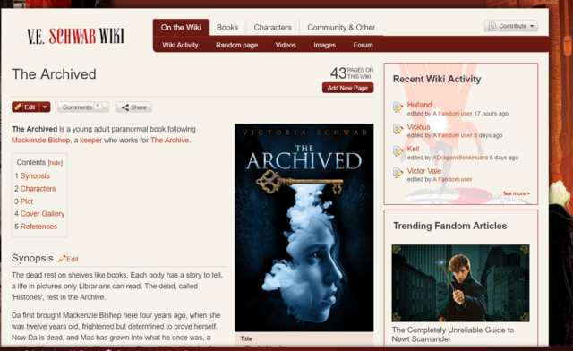 File:The original 'The Archived' page.png