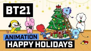 BT21 Happy Holidays!