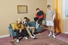 Jin, Suga, J-Hope and RM Puma TURIN