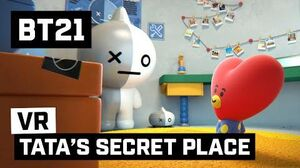 BT21 TATA's SECRET PLACE - 360 VR