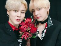 Jimin and V Twitter Jan 7, 2019 (1)