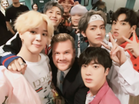 BTS and James Cordon Twitter November 15, 2017 (1)