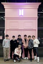BTS in BTS Pop Up