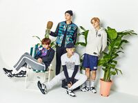 Suga, RM, Jimin and V Puma Blaze Time (2)