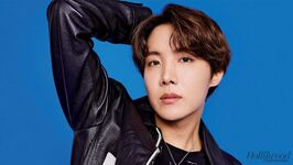 J-Hope The Hollywood Reporter Magazine Oct 2019