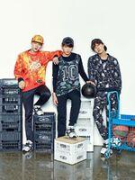 Jin, J-Hope and Jungkook Puma Blaze Time