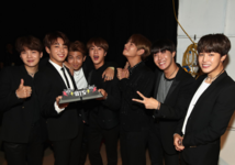 BTS Top Social Artist Win