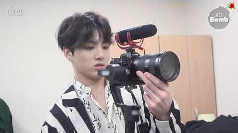 BANGTAN BOMB JK is trying new filming stuff - BTS (방탄소년단)