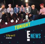 BTS on E! News Rundown Official Twitter Nov 30, 2017