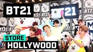 BT21 LINE FRIENDS Hollywood