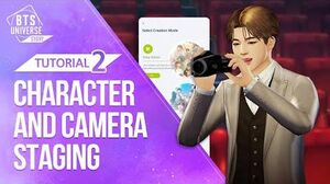 Guide 2 Diving Deep into Camera Actions! (BTS Universe Story)