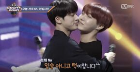 Jin and J-Hope on BTS Countdown