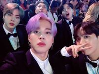 Jin, Jimin, RM, Jungkook and J-Hope Twitter Feb 11, 2019