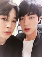 Jin and Jimin Twitter May 12, 2018