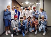 BTS with VICTON Twitter Sep 29, 2017 (2)