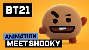BT21 Meet SHOOKY!