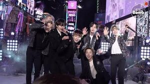 BANGTAN BOMB '작은 것들을 위한 시 (Boy With Luv)' Special Stage (BTS focus) @ NYRE 2020 - BTS (방탄소년단)